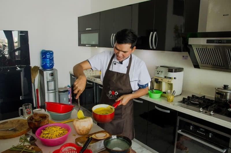Digitalisierung der Reisewelt: Kochkurs in Phnom Penh