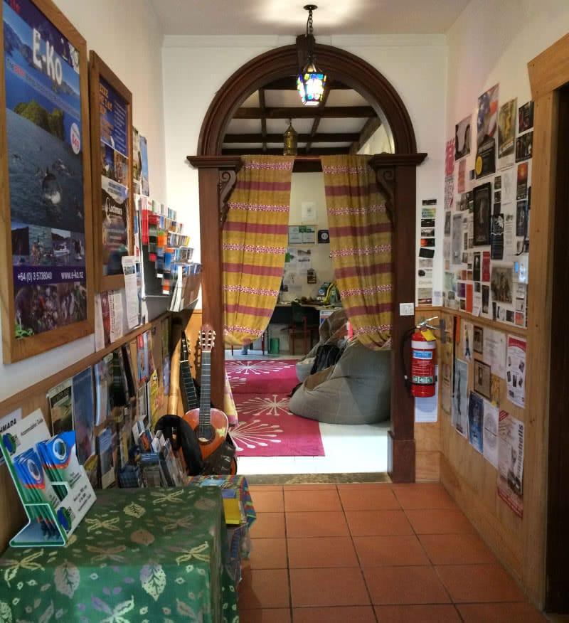 Suche nach dem Sinn des Lebens in Picton, das Hostel