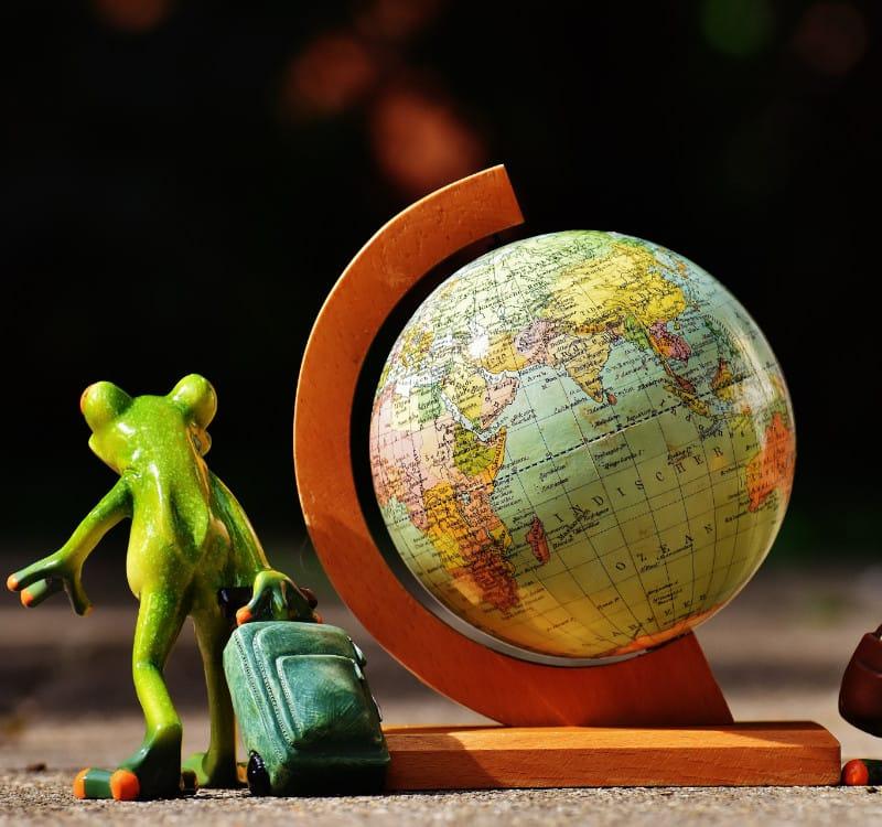 Beitragsbild Checkliste zum Weltreise planen