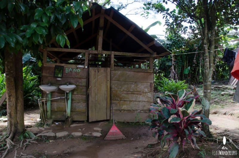 Verlorene Stadt: Toiletten