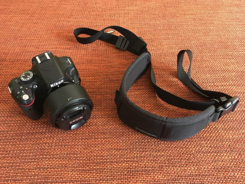 Unsere Kamera - eine super Nikon.